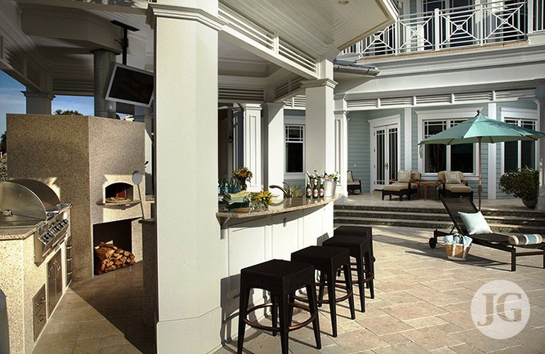 Outdoor Kitchen Design Installation Just Grillin Tampa FL