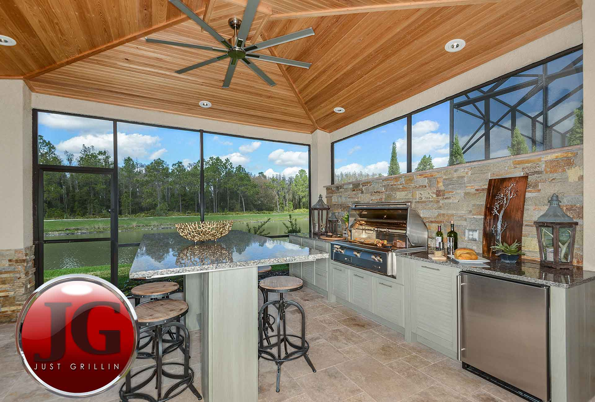 Outdoor Kitchen Design & Installation - Just Grillin Tampa, FL