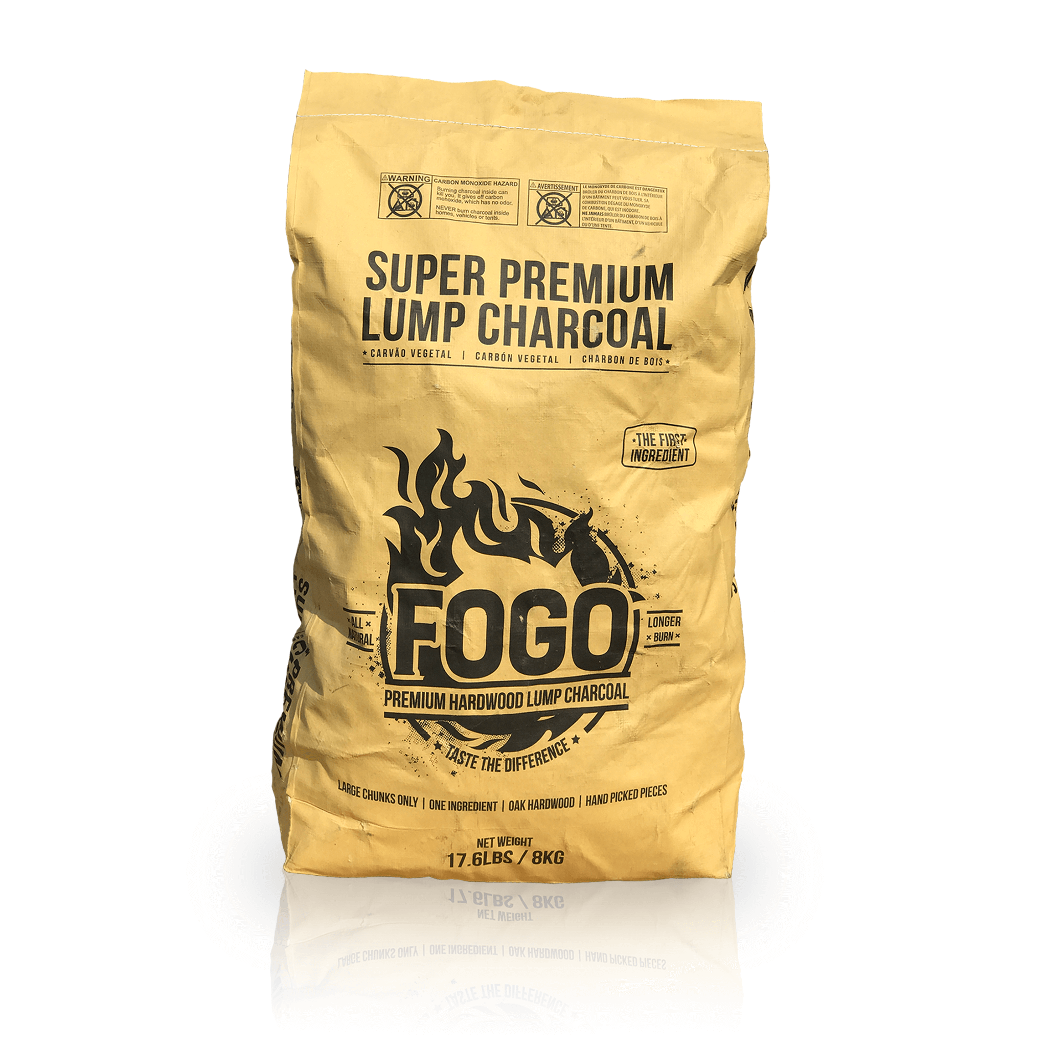 Fogo 17 6 Lb Super Lump Premium Hardwood Charcoal Bag